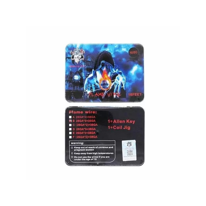 demon killer flame wire 28gax3+38ga ni80