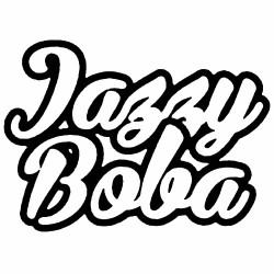 Jazzy boba by saveurvape logo
