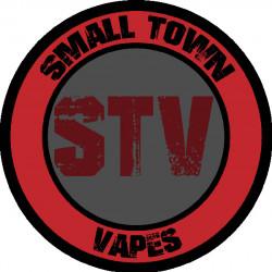 small town vape logo STV