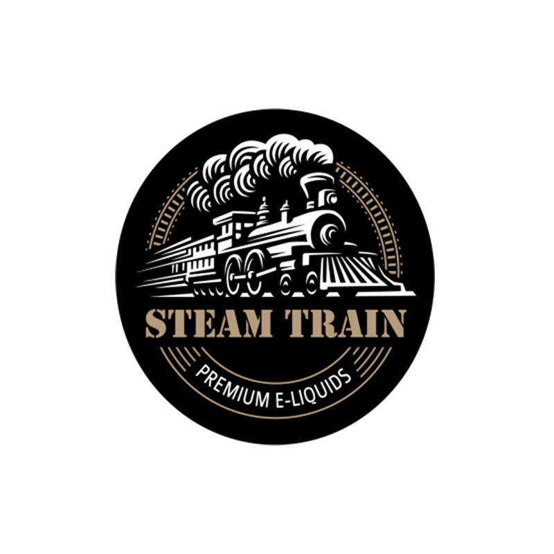 steam train logo