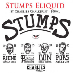 "stumps ""B"" charlie's Chalk Dust aroma concentrato 20ml"